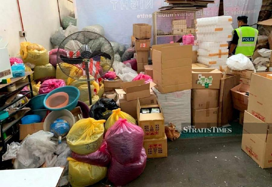RM2 9 million worth of unregistered health products seized in Penang