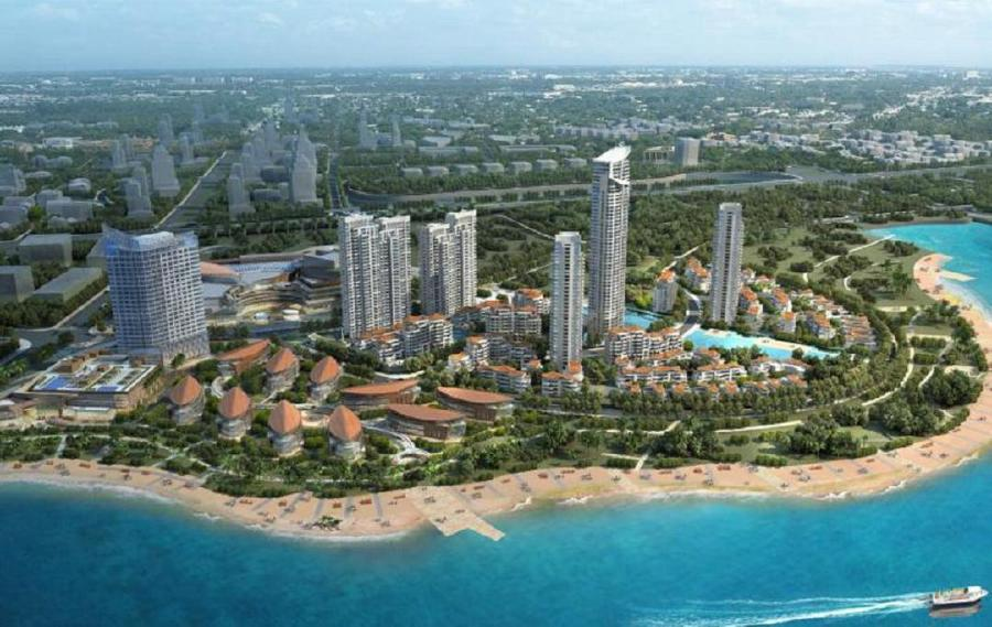 IOI Palm City is the first mega scale urban mixed-use development project invested by IOI Properties Group Bhd in China. - Pic credit IOI Properties