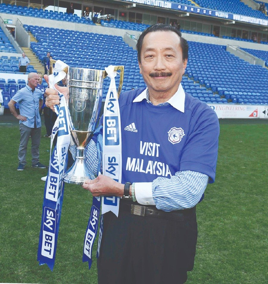 Cardiff: 10 years on with Vincent Tan