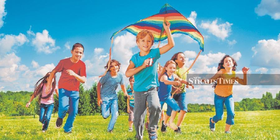 Parents must ensure children stay joyful and happy. FILE PIC