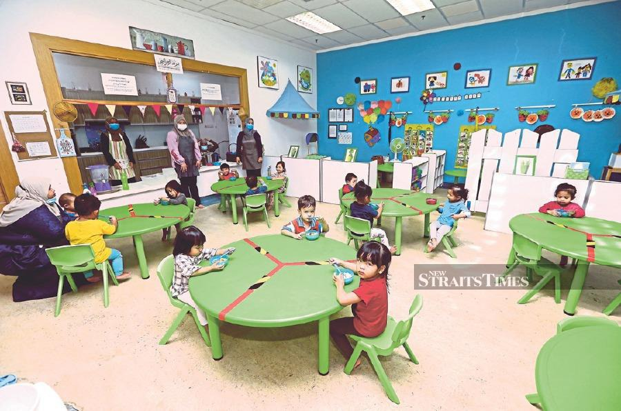 Wage subsidies have helped childcare centres affected by the pandemic.