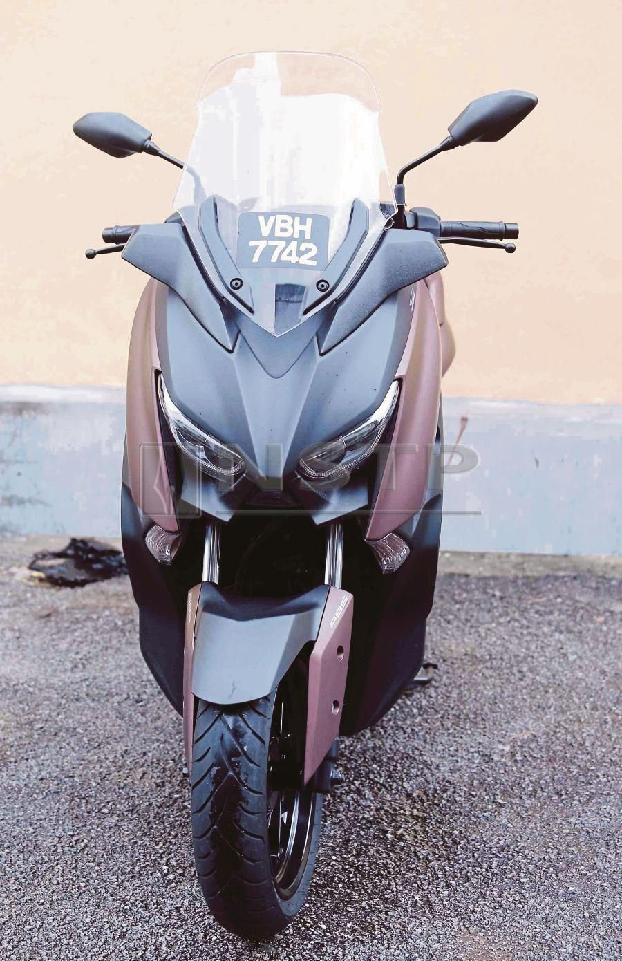 Yamaha X-Max 250 leads the pack   New Straits Times