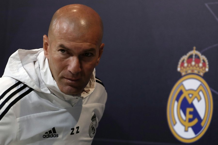 92648bc3c La Liga to be Real Madrid s number one priority next season - Zidane ...