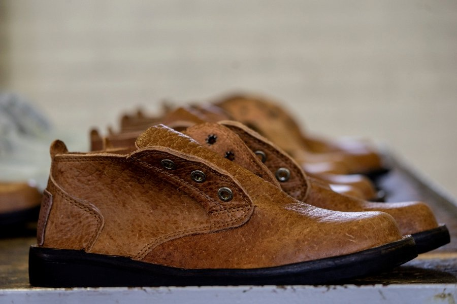 By the bootstraps  Handmade Zimbabwe shoes an unlikely global hit ... 47916bba7