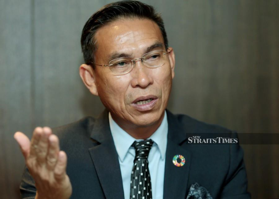 Tourism, Culture and Environment Assistant Minister Assafal Alian said despite having adequate laws to protect animals, the state still lost its rhinos and other endangered wildlife. (NSTP/EDMUND SAMUNTING)