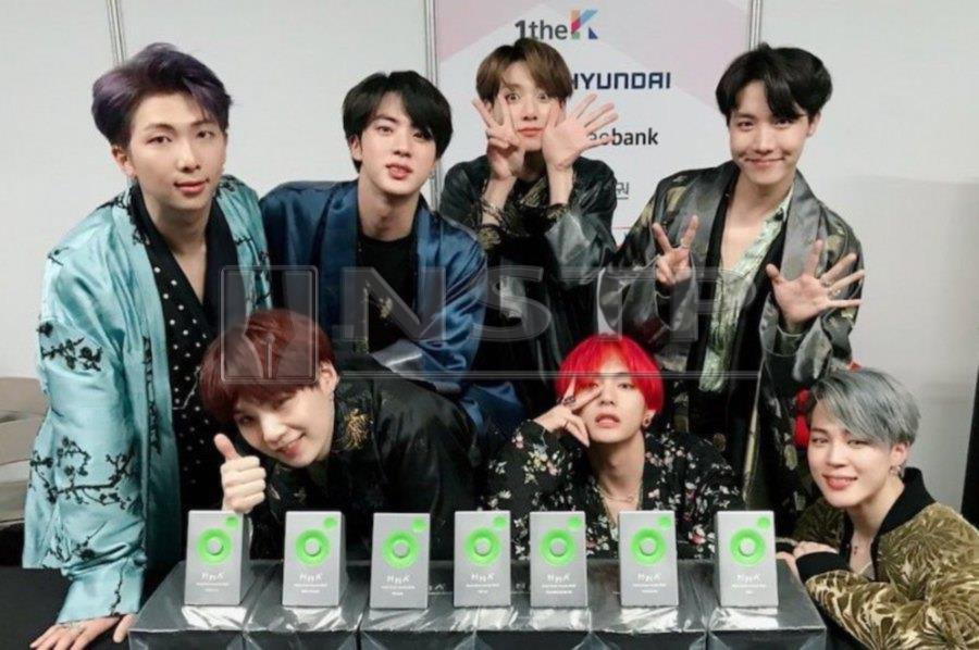 Showbiz Bts Thanks Fans Profusely For Big Win At 2018 Melon Music