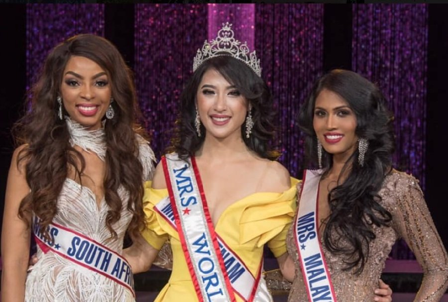 Kokilam does Malaysia proud at Mrs World 2019 pageant | New Straits