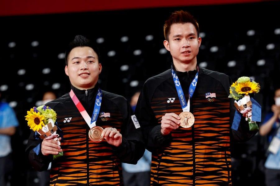 Aaron-Wooi Yik win Olympic medal for Malaysia