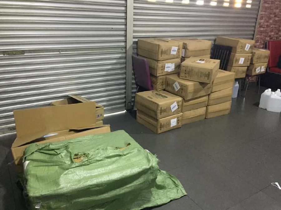 The total items seized were worth about RM446,000. -Pix courtesy of Domestic Trade and Consumer Affairs Ministry