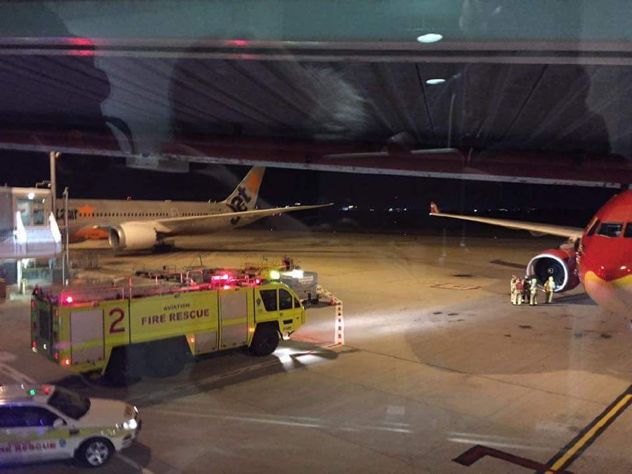 Air emergency causes flight to turn land in Brisbane
