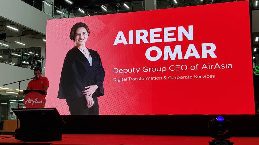 AirAsia appoints new CEO, as Aireen Omar moves up