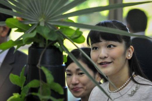 Japan's Princess Mako (right), the granddaughter of Emperor Akihito. EPA photo