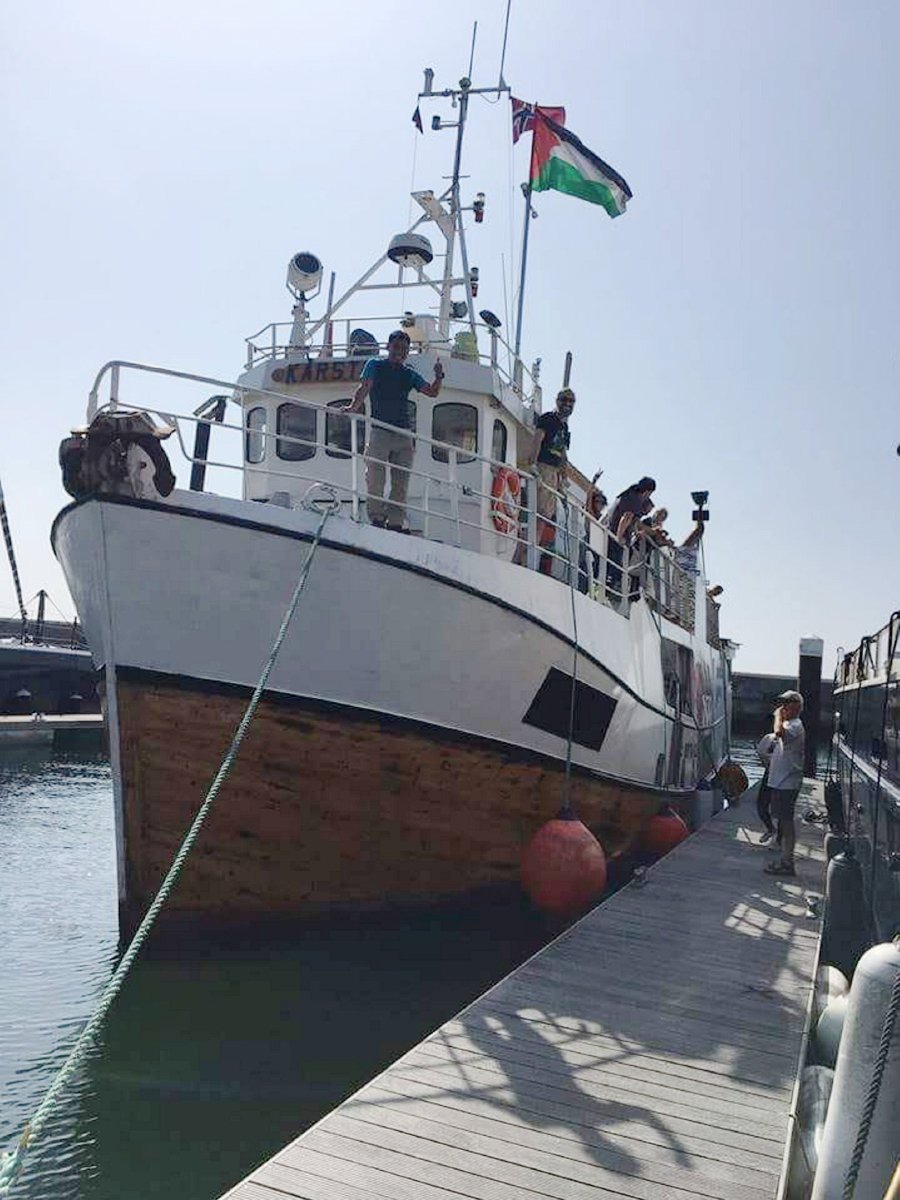 Israel navy says intercepted activist boat Al-Awda trying to