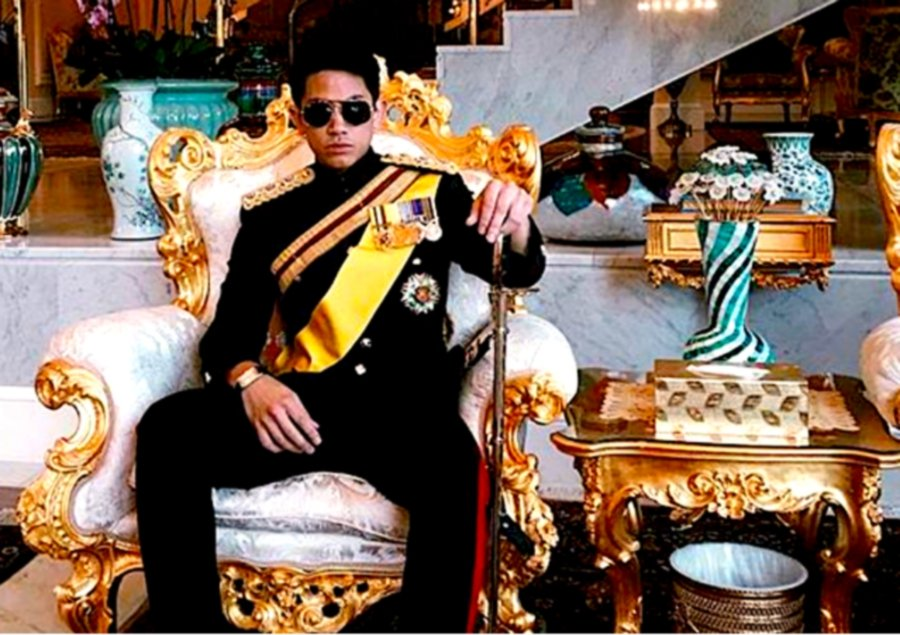 Meet Brunei's super-rich, social media-loving prince with 733,000