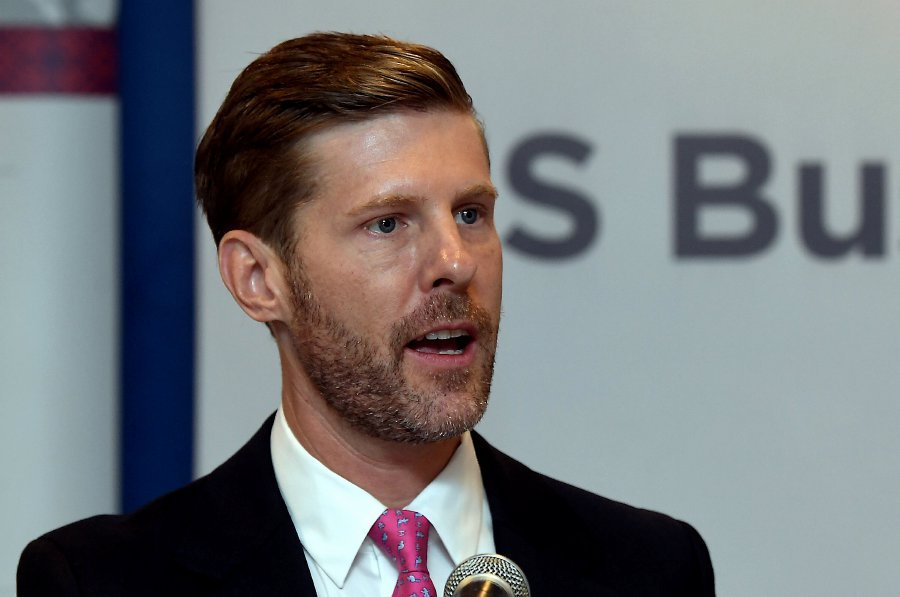 Asia Pacific Council of American Chambers of Commerce (APCAC) chairman Jackson Cox said the conference has proved vitally important in creating connections and deepening business engagement in what is the fastest growing region of the world. (Bernama photo)