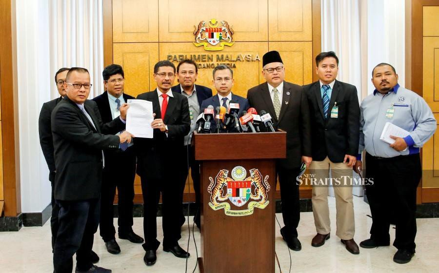 The National Union of Journalists (NUJ) has called on the government and opposition members of parliament to debate Utusan Melayu (M) Bhd's fate in the Dewan Rakyat. (NSTP/SYARAFIQ ABD SAMAD)