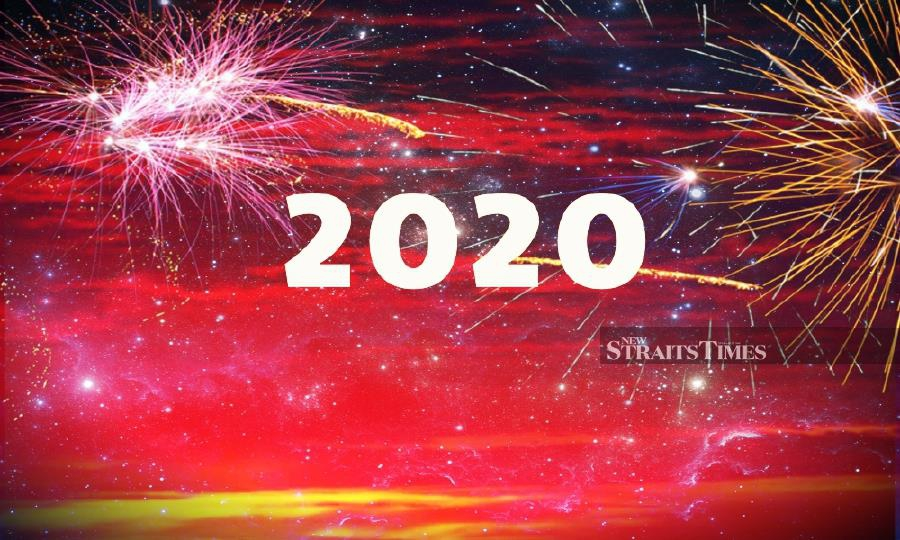 As you usher in Year 2020, look back and evaluate what have you achieved in 2019 and how you can further enhance yourself. -NSTP/File pic