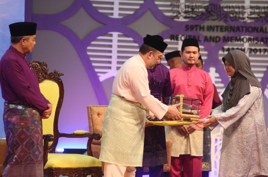 Malaysian emerges winner in 59th Int'l Quran Recital