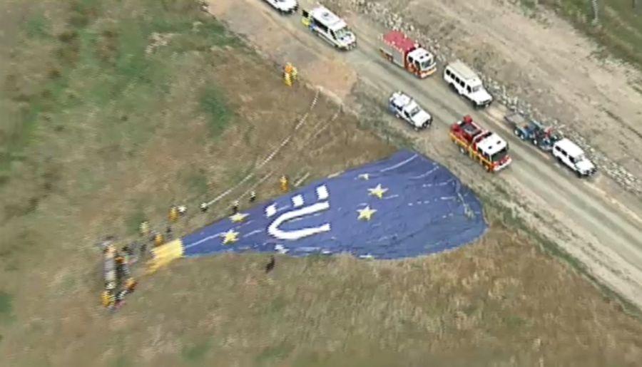 Seven injured in Australia hot air balloon crash | New