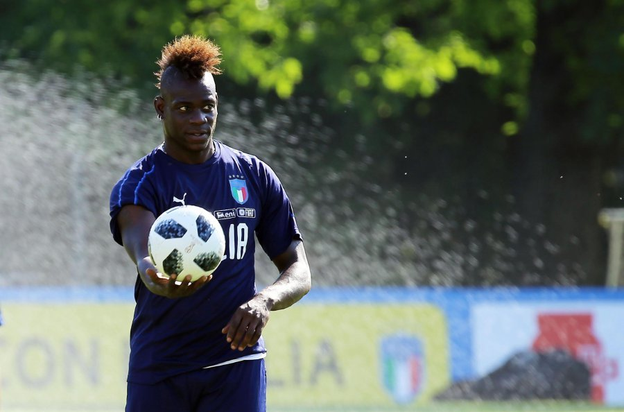 Mario Balotelli scored a stunning goal on return to Italy team