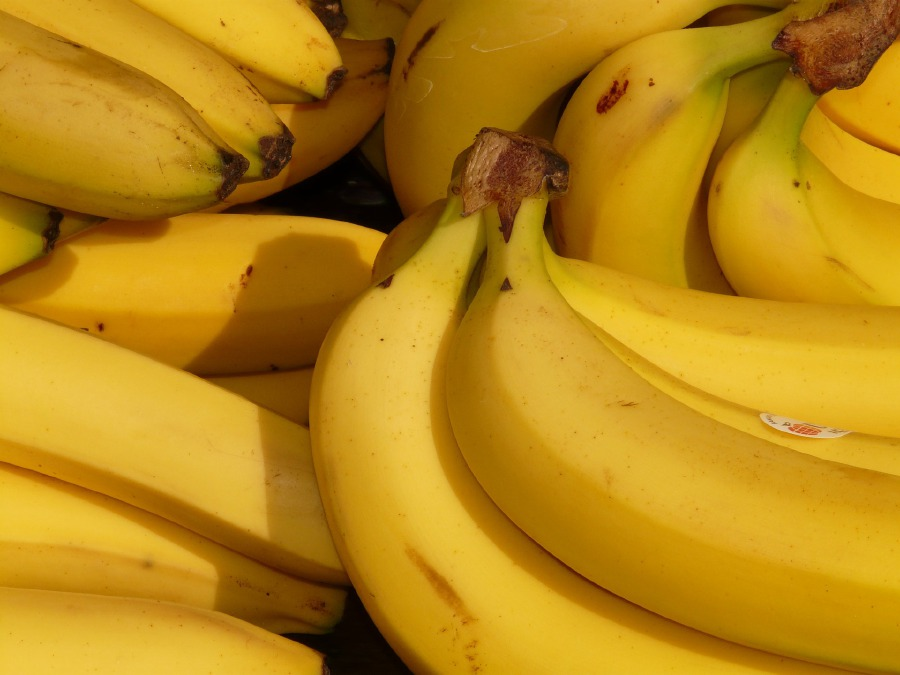 (Stock image for illustration purposes) The man's body was discovered at 4.30pm with two bunches of bananas nearby.
