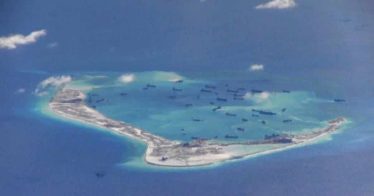 Beijing S South China Sea Outposts Nearly Set For Missile