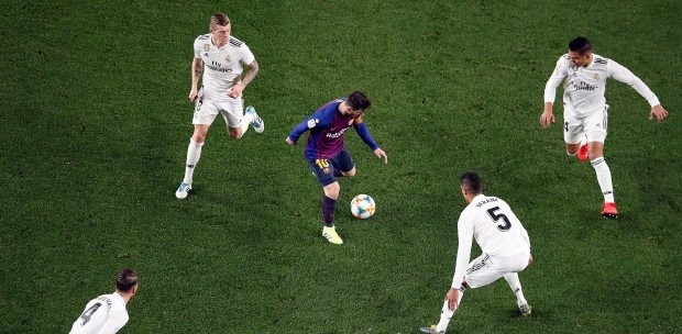 Messi unable to inspire Barca winner as Madrid hold on for draw