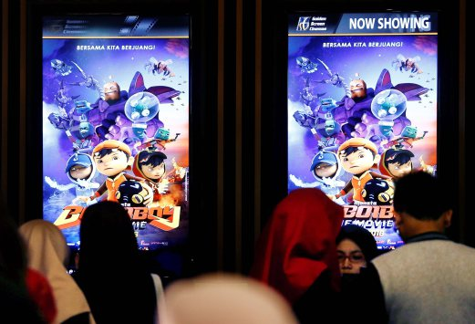 Boboiboy The Movie Puts Up A Solid Box Office Showing Of Rm13mil