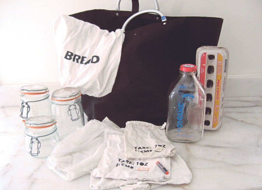 Bea's trusty shopping kit.
