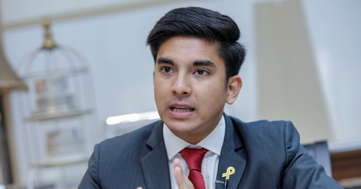 Syed Saddiq condemns PKR, DAP leaders for urging Dr M to step down
