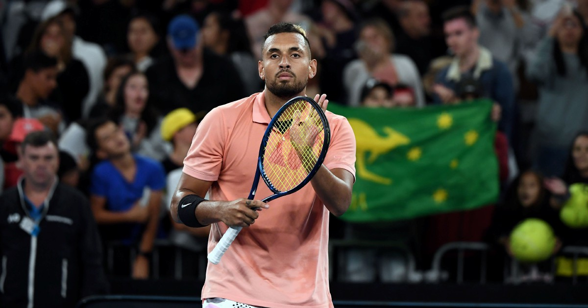 Kyrgios shines for Australia after bushfire disaster