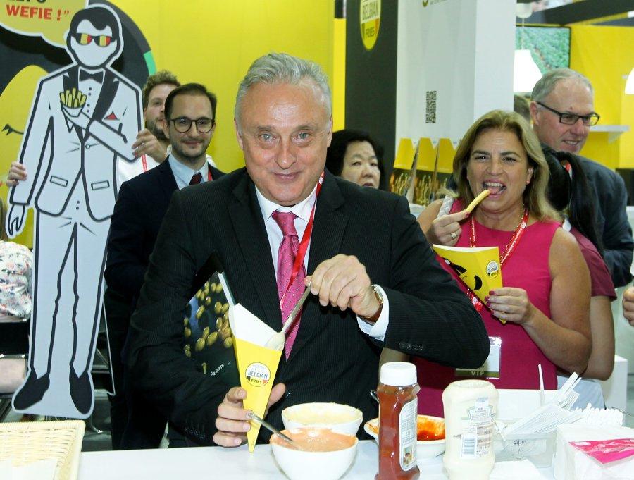 Belgium hopes to ship in more frozen potato fries to