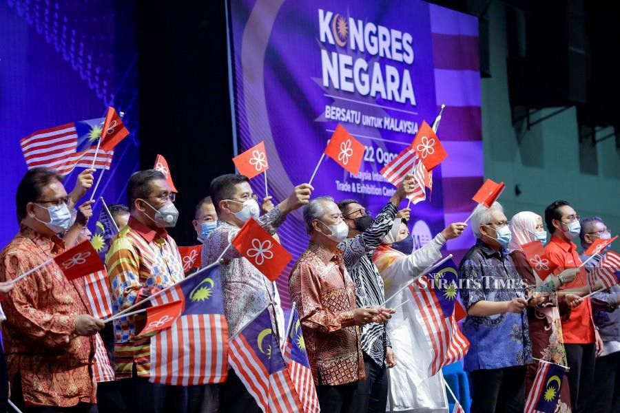 For that, I'm excited over the bold move taken by Prime Minister Tan Sri Muhyiddin Yassin to open up Parti Pribumi Bersatu Malaysia (Bersatu), which started off as a Malay-based political party, to other races as well. - NSTP/AIZUDDIN SAAD