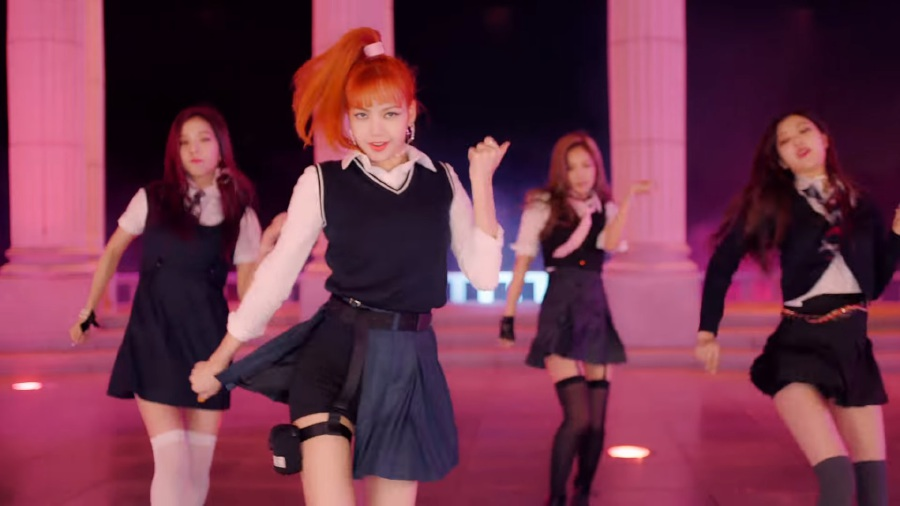 K-Pop group BlackPink's music video 'As If It's Your Last