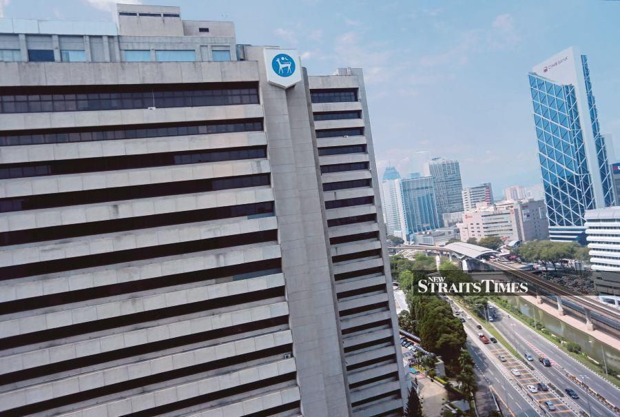 Bank Negara Malaysia's international reserves increase to US$103.3 billion as at October 15 this year from US$103.0 billion as at September 30. NST file pix