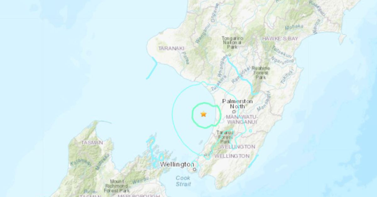 5.6-magnitude quake rattles New Zealand
