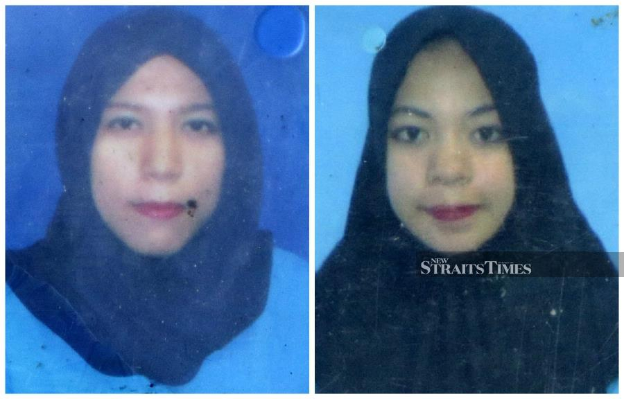 Imagine her horror when she found out that her bus was involved in an accident in which 12 people were killed, and among them were her good friends, Rosvita Loka Harahap, 24, Ayu Zulkarnain (Left) , 23, and Azura Afrianti (right), 23.