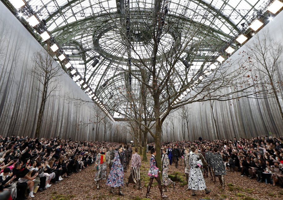 Chanel Attacked For Felling Trees For Paris Fashion Show New