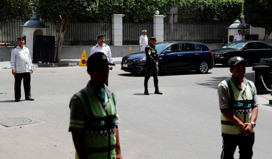Image result for Militants kill three policemen, injure five in Cairo