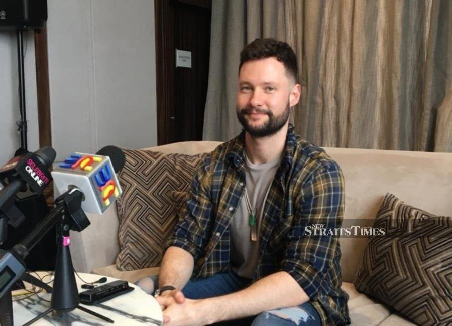 Scott, 30, who is in town for the first time to perform an intimate showcase at the Sheraton hotel last night gushed about how much he had enjoyed local food.