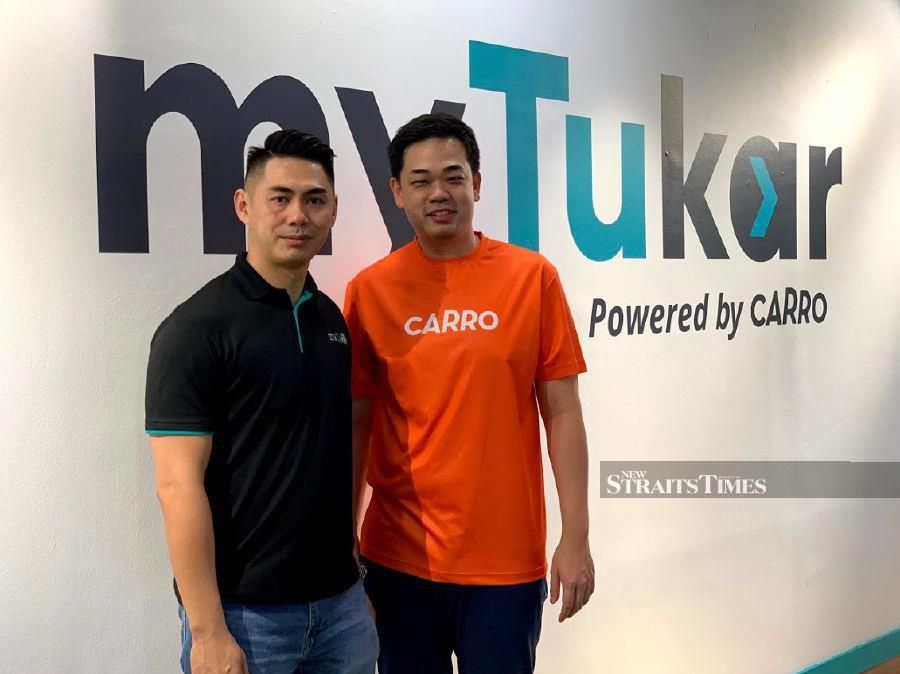 Carro founder Aaron Tan said over the next few years, the company plans to triple myTukar existing transaction volume to over US$500 million.