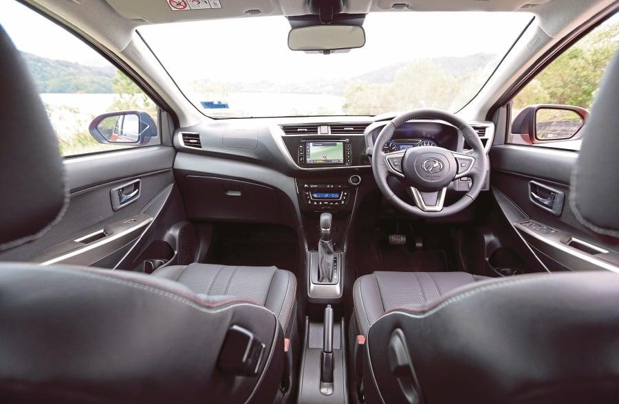 Perodua Myvi Interior 2018 - Di Klewer
