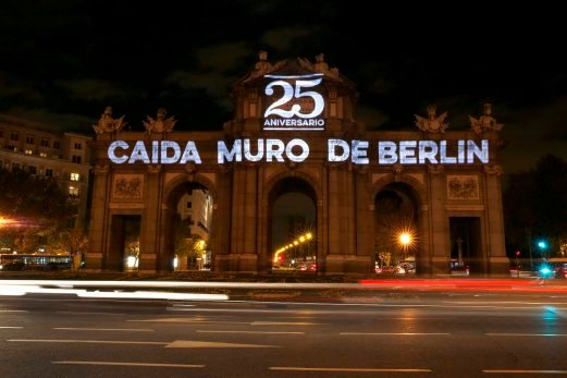 WW1, Berlin Wall Fall and Drama - Berlin wall fall anniversary in Madrid