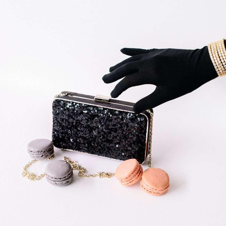 Siow's attention to details can be seen in each clutches and minaudiere.