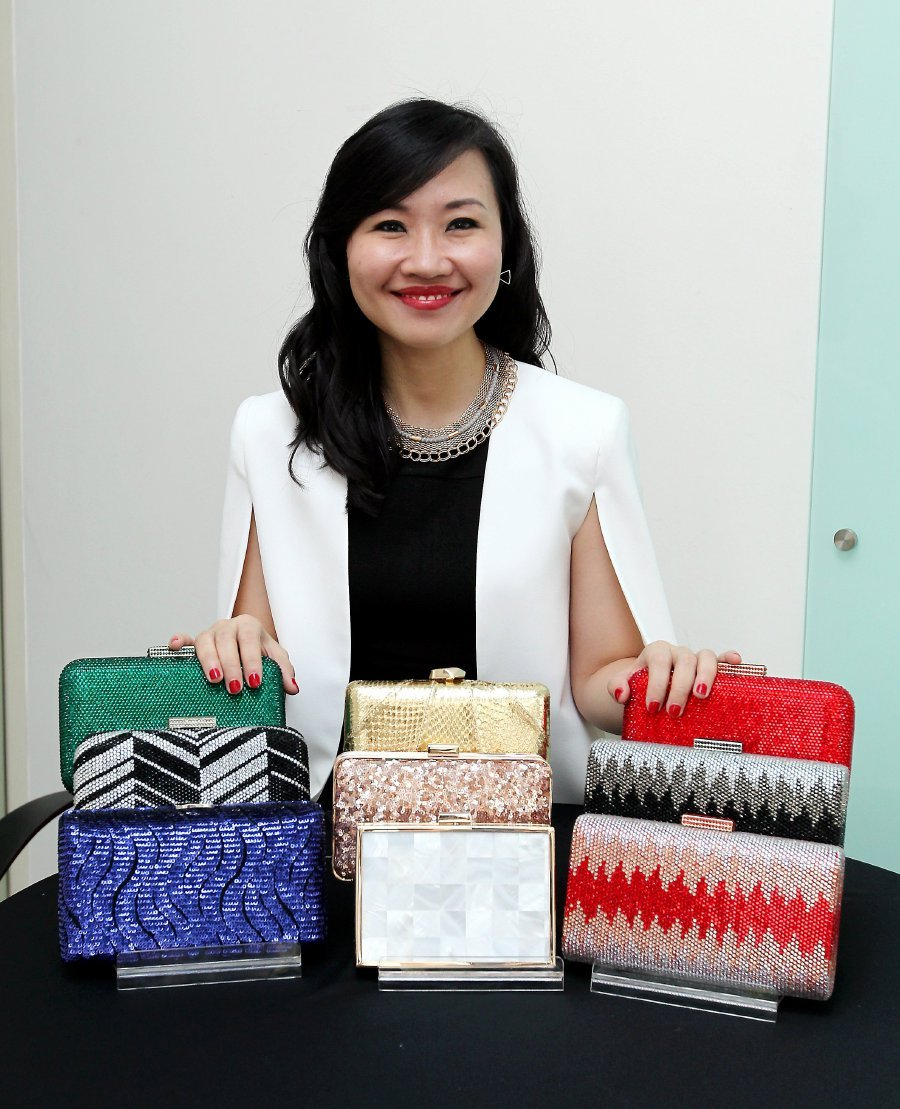 A clutch is elegant and classy and a perfect fashion statement - Siow Hui Ling