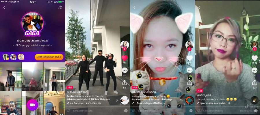Users can apply cool features such as real-time beautification filters and cute 3D stickers to create funny videos.