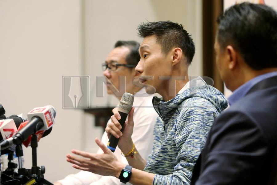 chong wei to resume training in two weeks