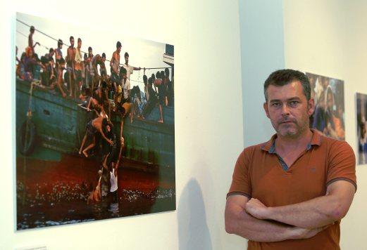 (File pix) Christophe Archambault at Odysseys Photographic exhibition at the White Box Publika. Pix by Zunnur Al Shafiq