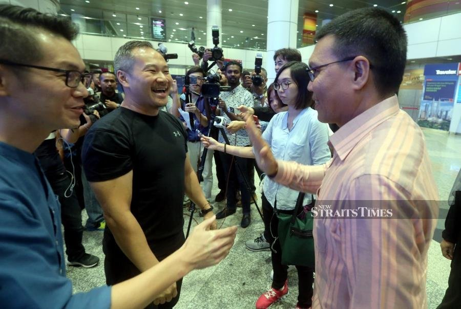 Chris Leong back in Malaysia after 2 months in Indonesian