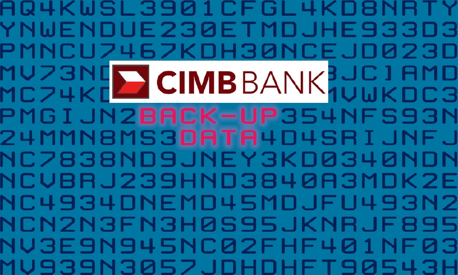 Cimb reveals several magnetic tapes containing back up data lost in the tape data does not contain any authentication data such as pins passwords or credit card cvv numbers says cimb reheart Choice Image